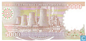 Banknotes - Turkey - 7th Emission - Turkey 5,000 Lira ND (1990/L1970)