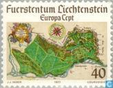 Timbres-poste - Liechtenstein - Europe – Paysages