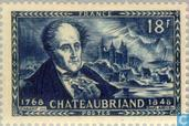 Postage Stamps - France [FRA] - Chateaubriand 100 years