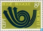 Postzegels - België [BEL] - Europa – Posthoorn