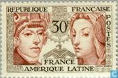Timbres-poste - France [FRA] - Amitié France-Amérique latine