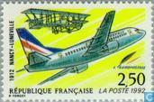 Postage Stamps - France [FRA] - Post-flight Nancy-Luneville
