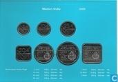 Coins - Aruba - Aruba mint set 2000