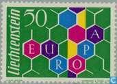 Postage Stamps - Liechtenstein - Europe – Honeycomb