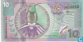 Billets de banque - Suriname - 2000 Issue - Suriname 10 Gulden 2000