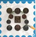"""Coins - Belgium - Belgium mint set 1999 """"150 jaar postzegels in België"""""""