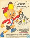 "Strips - Kuifjesbon producten - Sleutelringen ""Pinocchio"" (Pinocchio,Twortu,Gepetto,de"
