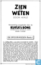 "Comic Books - Kuifjesbon producten - Chromo's ""Spoorwegen"" 3"