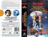 DVD / Video / Blu-ray - VHS videoband - Diamonds are Forever