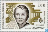 Postage Stamps - France [FRA] - Albrecht, Berthie