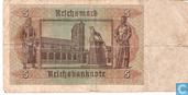 Banknoten  - Reichsbanknote - Deutschland 5 Reichsmark