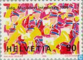 Postzegels - Zwitserland [CHE] - Muziekfeest