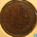 Coins - the Netherlands - Netherlands 1 cent 1937