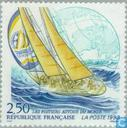 Postage Stamps - France [FRA] - Participation PTT yacht to Whitbread race