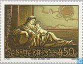 Briefmarken - San Marino - Gemälde