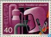 Postage Stamps - Switzerland [CHE] - Security at Work