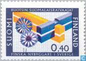 Postage Stamps - Finland - 40 blue / multicolour
