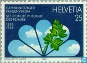 Postage Stamps - Switzerland [CHE] - Women's Association 100 years
