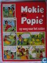 Strips - Mokie en Popie - Mokie en Popie op weg naar het zuiden