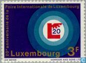Postage Stamps - Luxembourg - Int. Exhibition 20 years