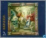 Postage Stamps - Malta - Tapestries
