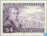 Postage Stamps - Austria [AUT] - Haydn, Michael 250 years