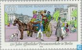 Timbres-poste - Berlin - Transports publics de Berlin 1740-1990