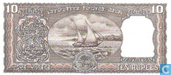 Banknotes - Reserve Bank of India - India 10 Rupees (P60k)