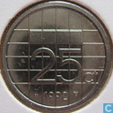 Coins - the Netherlands - Netherlands 25 cents 1992