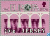 Postage Stamps - Jersey - Europe – Bridge