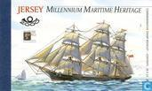 Postage Stamps - Jersey - Maritime heritage-sailing ships
