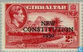 Timbres-poste - Gibraltar - Nouvelle Constitution
