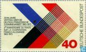 Postage Stamps - Germany, Federal Republic [DEU] - Franco-German cooperation