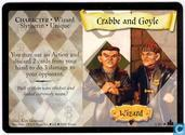 Cartes à collectionner - Harry Potter 4) Adventures at Hogwarts - Crabbe and Goyle