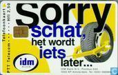 IDM Bank, sorry schat het wordt...