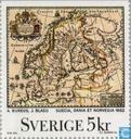 Postzegels - Zweden [SWE] - Landkaarten van Zweden