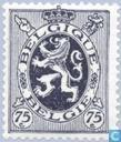 Timbres-poste - Belgique [BEL] - Lion héraldique