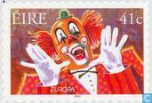 Postage Stamps - Ireland - Europe – The Circus