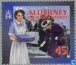Briefmarken - Alderney - Soziale Dienste