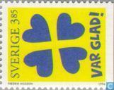 Postzegels - Zweden [SWE] - 385 meerkleurig