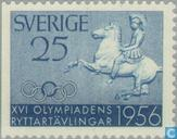 Postage Stamps - Sweden [SWE] - Equestrian Olympics