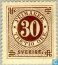 Postage Stamps - Sweden [SWE] - Circle figure