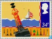 Postage Stamps - Great Britain [GBR] - Safety at sea