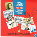 """Monnaies - Belgique - Belgique coffret 1999 """"150 jaar postzegels in België"""""""