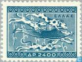 Postage Stamps - Greece - Ancient Greek art