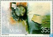 Timbres-poste - Malte - Europe – Art contemporain