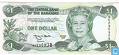Banknotes - 1974 Central Bank Act; 1996 Series - Bahamas $ 1 1996