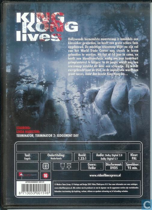 King Kong Lives DVD Catawiki
