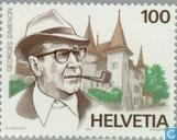 Postage Stamps - Switzerland [CHE] - Georges Simenon