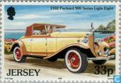 Timbres-poste - Jersey - Les voitures classiques